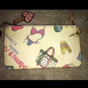 Vintage Dooney & Bourke Coin wallet purse